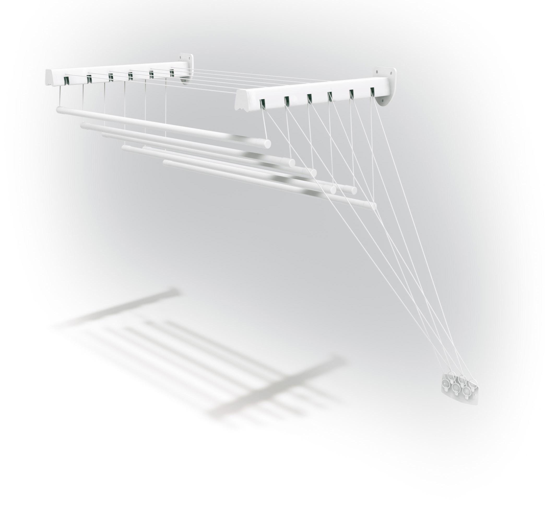 Сушилка (сушка) для белья настенная gimi lift 100 it - отзыв.